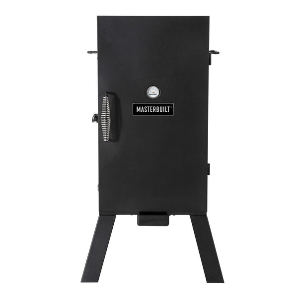 Masterbuilt MB20070210 Electric Smoker with 3 Cooking Racks & Analog Controls