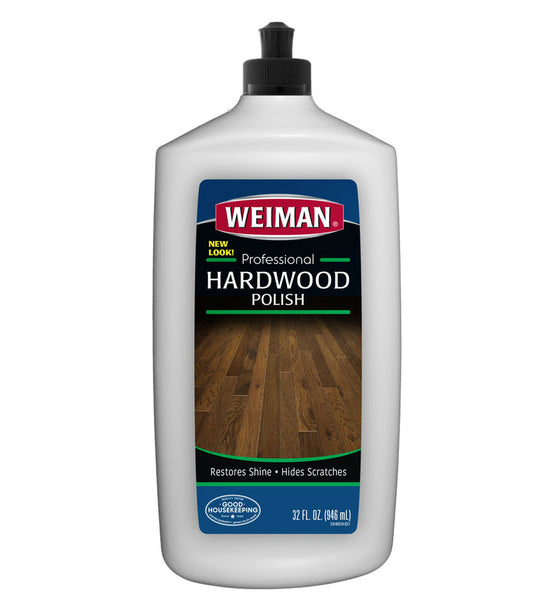 Weiman 524 Eco-friendly Hardwood Floor Polish, 32 Oz