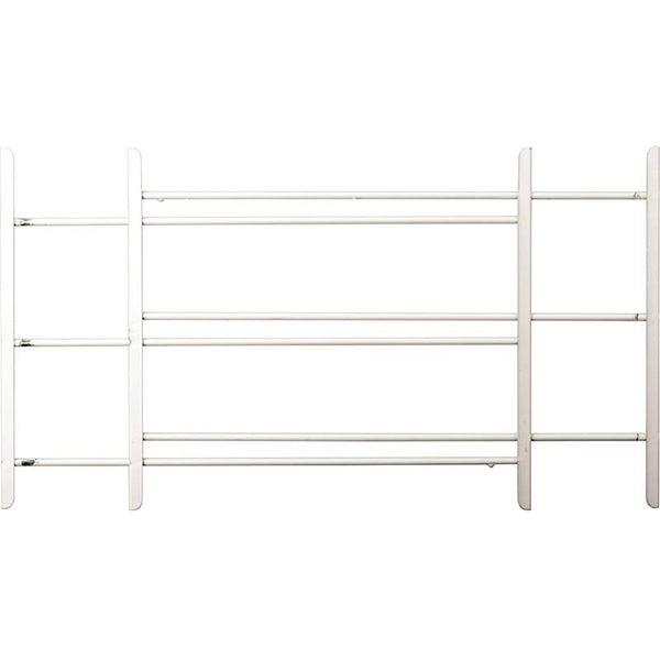"John Sterling 1123 Child Safety Window Guards, White, 3-Bars, 15"" x 23"" - 42"""