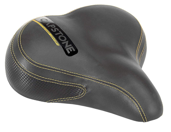 Capstone 65018 Memory Comfort Cruiser Bike Saddle, Large