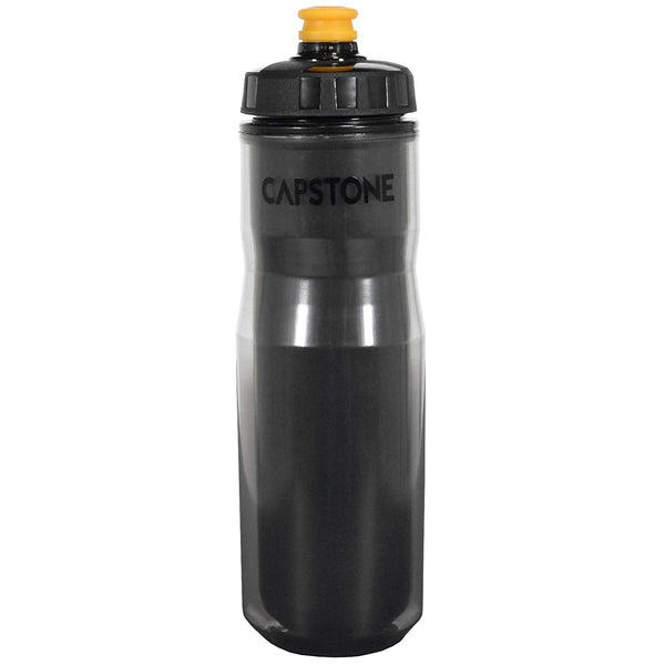 Capstone 67510 Plastic Thermal Water Bottle, 24 Oz