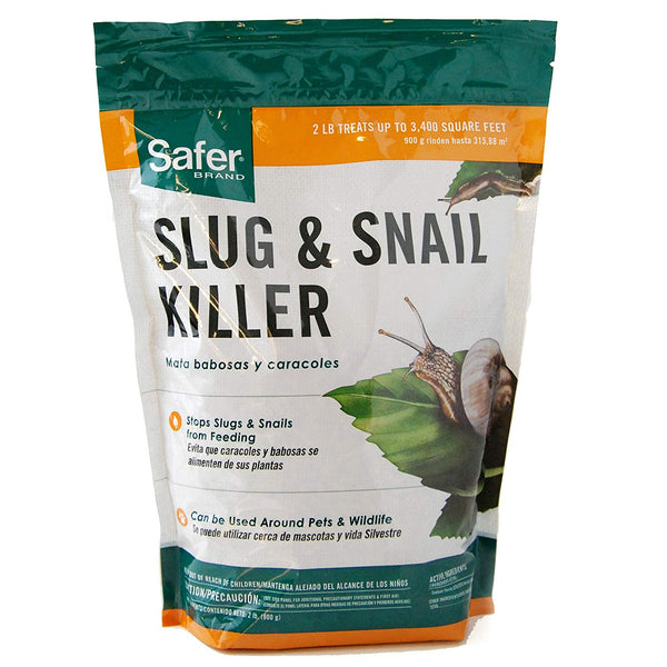 Safer SB125 Slug & Snail Killer, 2 Lb