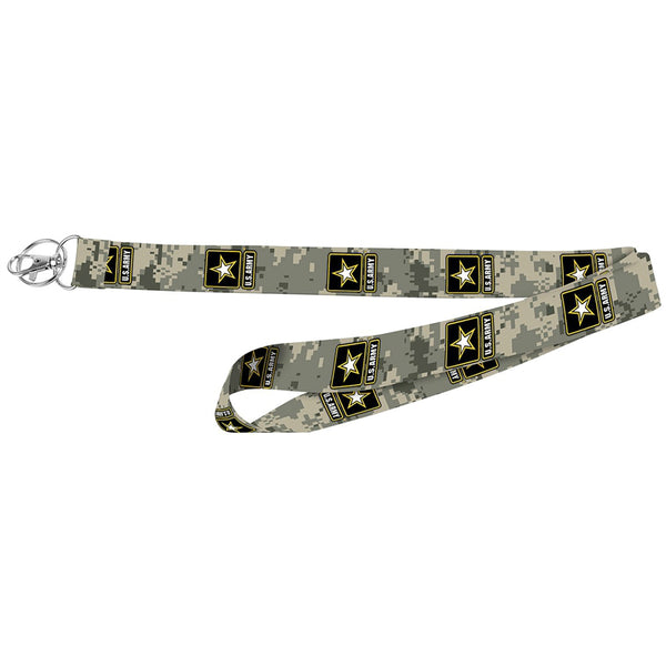 "Hy-Ko LAN-119 Army Pattern Licensed Lanyard, 1"" Wide"