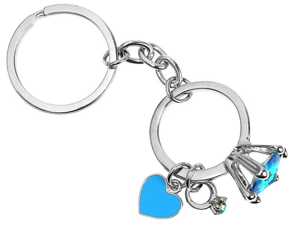 Hy-Ko KH707 Bling Ring Key Chain