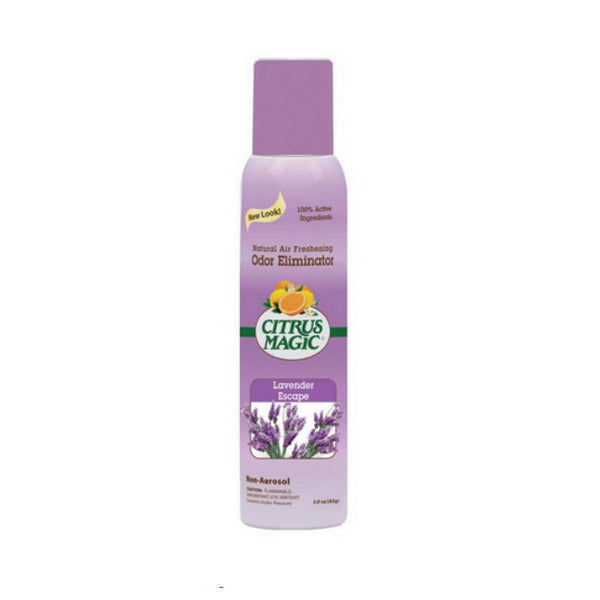 Citrus Magic 612172868 Spray Air Freshener, Lavender Escape, 3 Oz