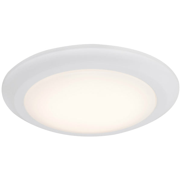 "Boston Harbor CL006AC1215-16 Dimmable LED Flush Mount Ceiling Fixture 12"", White"
