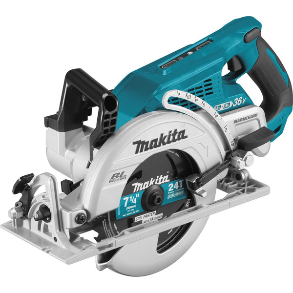 "Makita XSR01Z 18V X2 LXT Lithium-Ion (36V) Brushless Cordless 7-1/4"" Circular Saw, Tool Only"