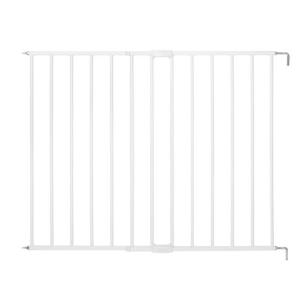 "North State 5150 Essential Stairway Swing & Lock Gate, White, 24.5""-42"" x 30"""
