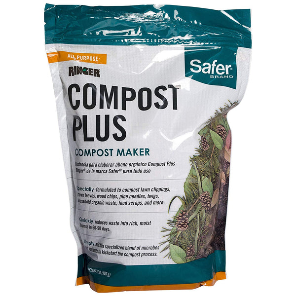Safer 3050-6 Ringer Compost Plus Compost Maker, 2 Lb