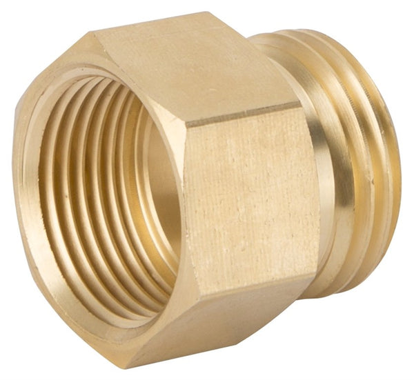 "Landscapers Select GHADTRS-6 Double Garden Hose Connector 3/4"", Male NH x FNPT"