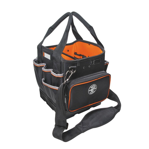 Klein Tools 5541610-14 Tradesman Pro Large Zipper Tool Tote w/ 40-Pockets, 10""