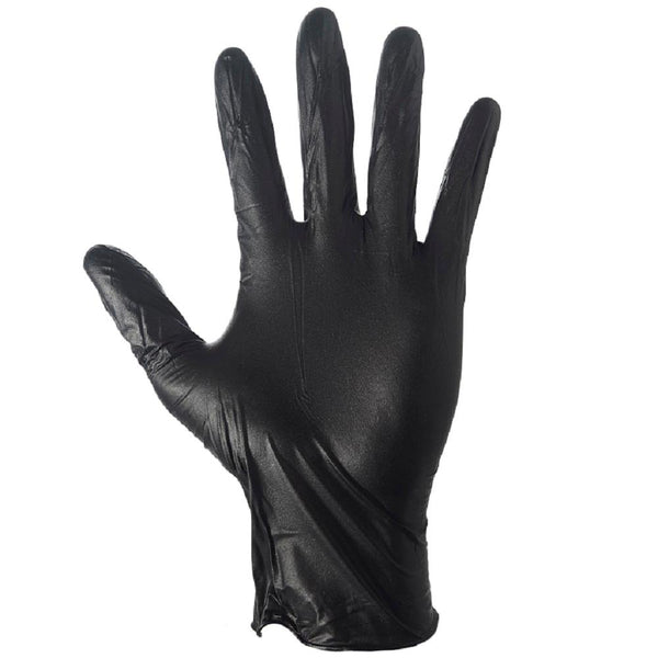Grease Monkey 23892-110 Men's Disposable Nitrile Glove, Black, X-Large, 100-Ct