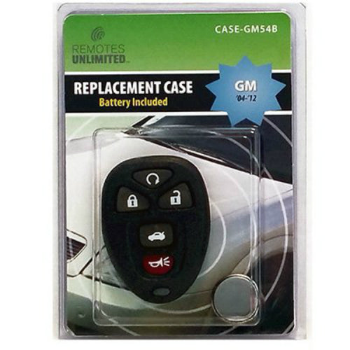 Remotes Unlimited CASE-GM54B General Motors 5-Button Replacement Case & Battery