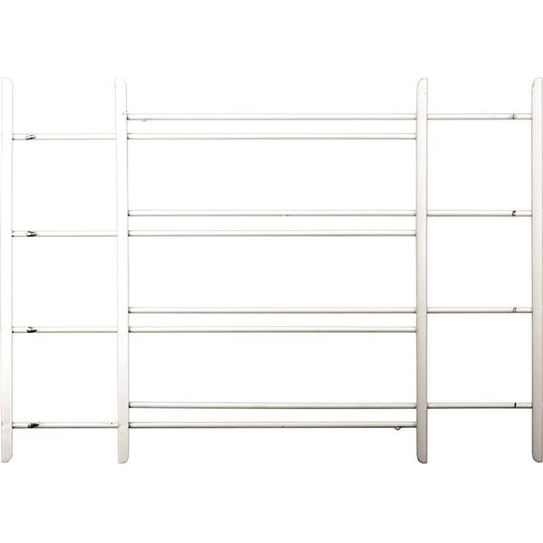 "John Sterling 1124 Child Safety Window Guards, White, 4-Bars, 20"" x 23"" - 42"""