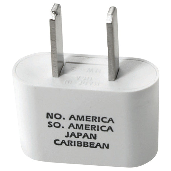 Travel Smart NW1X/NW1C Adapter Plug - No./So. America, Caribbean & Japan