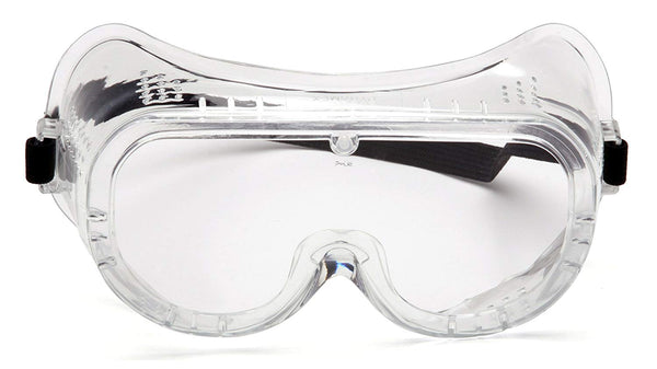 Tru-Guard G201T-TV Clear Anti-Fog Perforated Safety Goggle