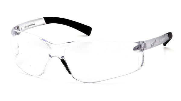 Tru-Guard S2510R25-RT Reader Safety Glasses with Clear 2.5X Lens & Clear Frame