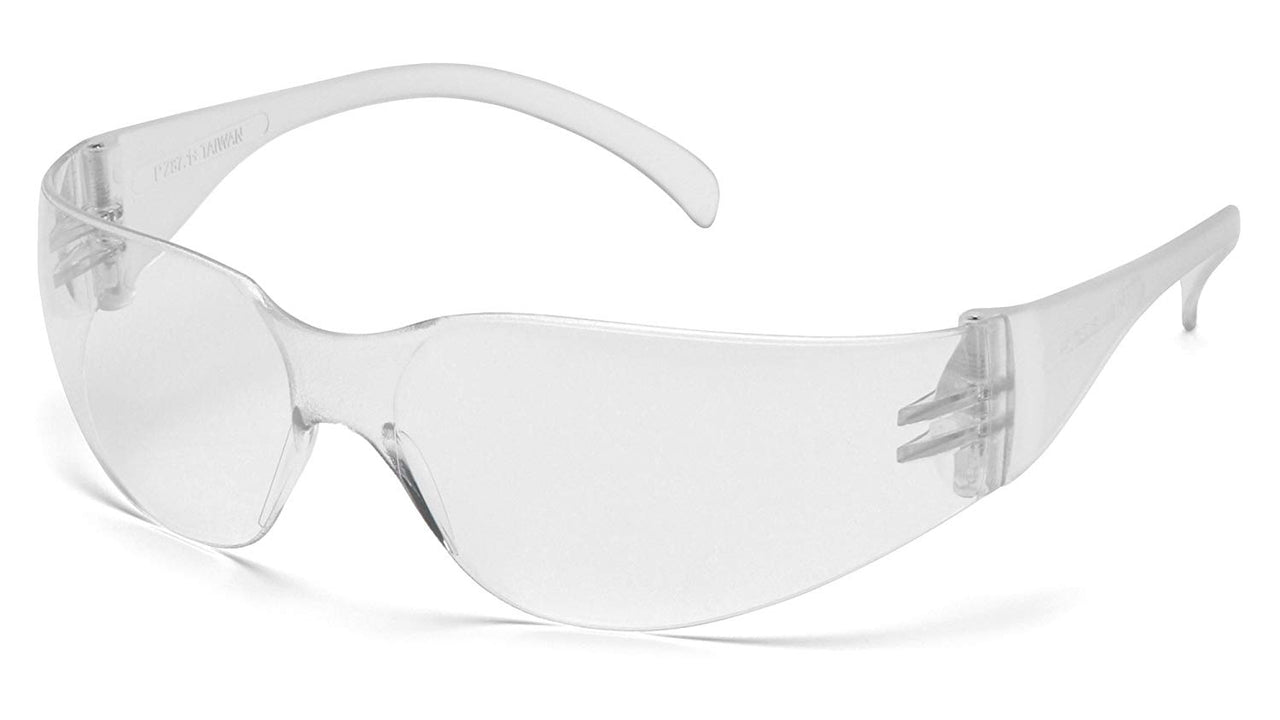 Pyramex S4110S-TV General Purpose Close-Fit Frameless Safety Glasses, Clear