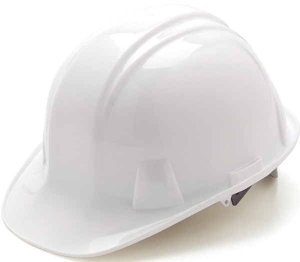 Tru-Guard HP14010-TV PinLock Cap Style 4-Point Snap Lock Hard Hat, White