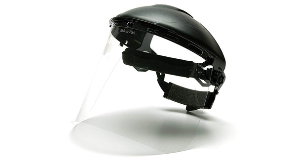 Pyramex S1020-TV  Replacement Polycarbonate Face Shield Visor, Clear
