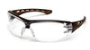 Carhartt CHB810ST Easley Clear Anti-Fog Lens Safety Glasses with Black/Tan Frame