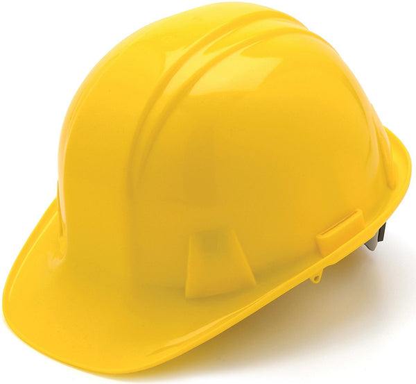 Tru-Guard HP14030-TV PinLock Cap Style 4-Point Snap Lock Hard Hat, Yellow