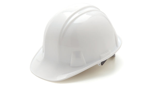 Tru-Guard HP14110-TV Cap Style 4-Point Ratchet Suspension Hard Hat, White