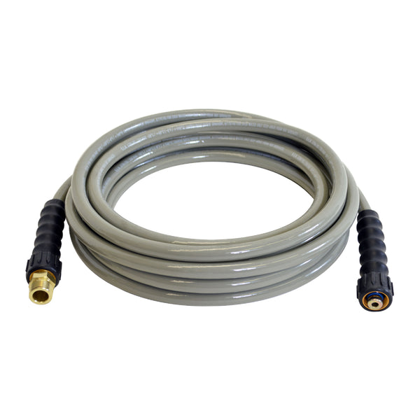 "Simpson 41108 MorFlex Cold Water Hose, 3700 PSI, 5/16"" x 25'"