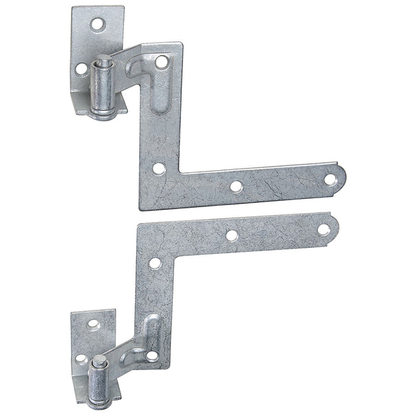 "National N269-862 Galvanized Steel Blind Shutter Hinge Kit, 11/16"" Offset"