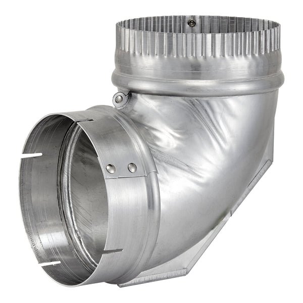 Lambro 2315 Aluminum Dryer Vent Close Elbow, 90-Degree, 4""