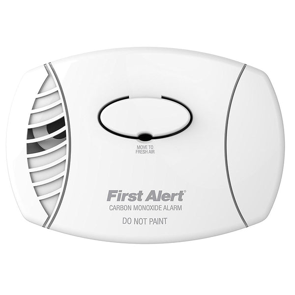 First Alert 1039718/CO400 Basic Battery-Operated Carbon Monoxide Alarm, 9V