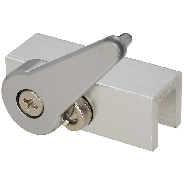 National Hardware N183-681 Sliding Door & Window Lock, Aluminum, 1-3/4""
