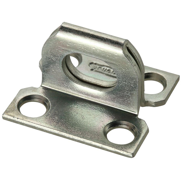 "National Hardware N102-624 Hasp Plate Staple, Zinc Plated, 1-1/16"" x 1-1/8"""
