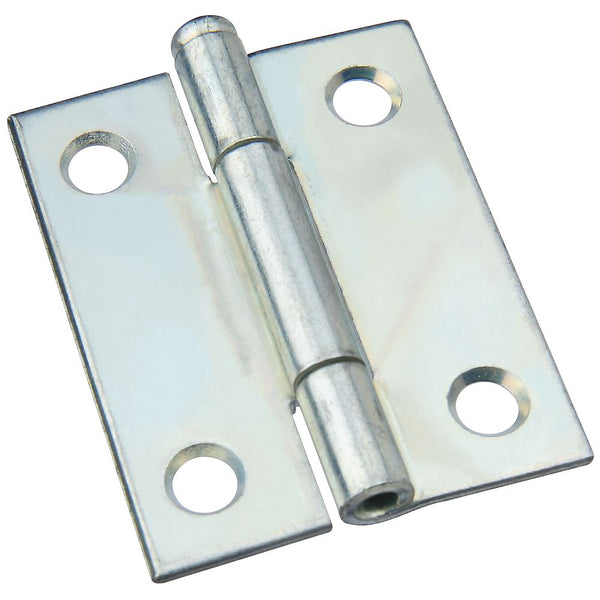 National Hardware N141-820 Steel Removable Pin Hinge, Zinc Plated, 2""