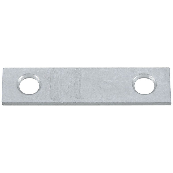 "National Hardware N114-322 Steel Mending Brace, Galvanized, 2"" x 1/2"""