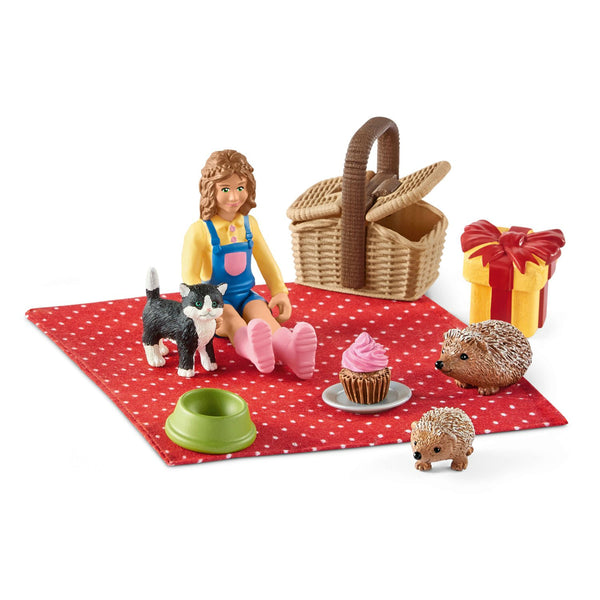 Schleich 42426 Birthday Picnic Toy Play Set, For Age 3+