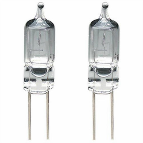 Four Seasons TV40353 Warm White T3 Halogen Bulb Set with G4 Base, 20W, 2-Pack