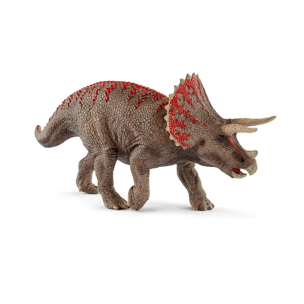 Schleich 15000 Triceratops Toy Figurine, For Age 3+