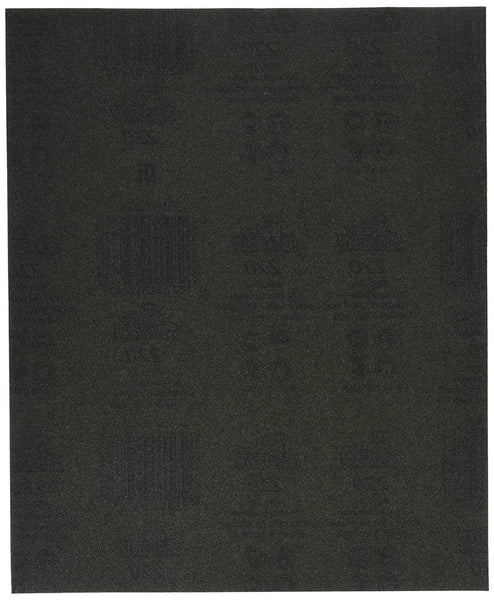 "Gator 3283 Waterproof Silicon Carbide Sanding Sheet, Extra Fine 220 Grit, 9""x11"""