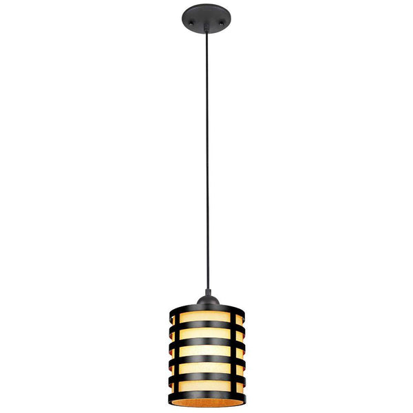 Westinghouse 60004 One-Light Adjustable Mini Pendant, Oil Rubbed Bronze