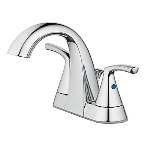 HomePointe 67603W-6201 2-Lever Handle Lavatory Faucet with Pop-Up, Chrome