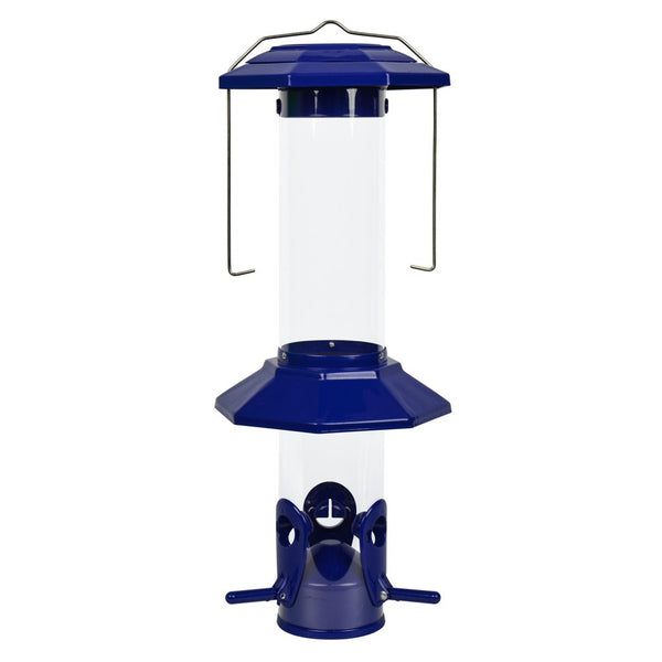 Nature's Way PSP2 Funnel Flip-Top Squirrel Proof Feeder with 3-Feeding Ports