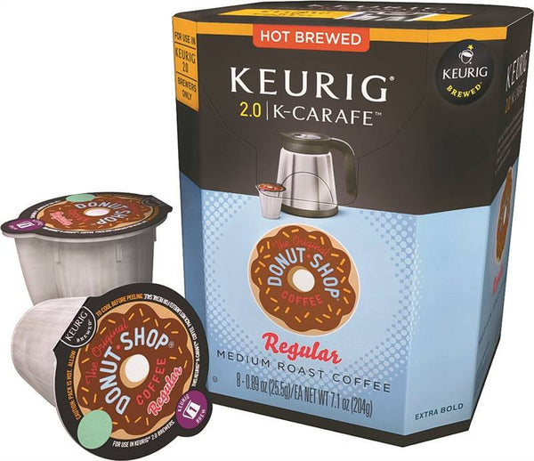 Keurig 4601 Original Donut Shop Regular Coffee for Keurig 2.0 Brewer