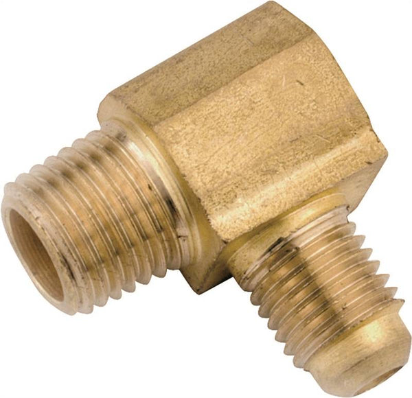 "Anderson Metals 754049-1012 Lead-Free Tube Union, Brass, 5/8"" x 3/4"""