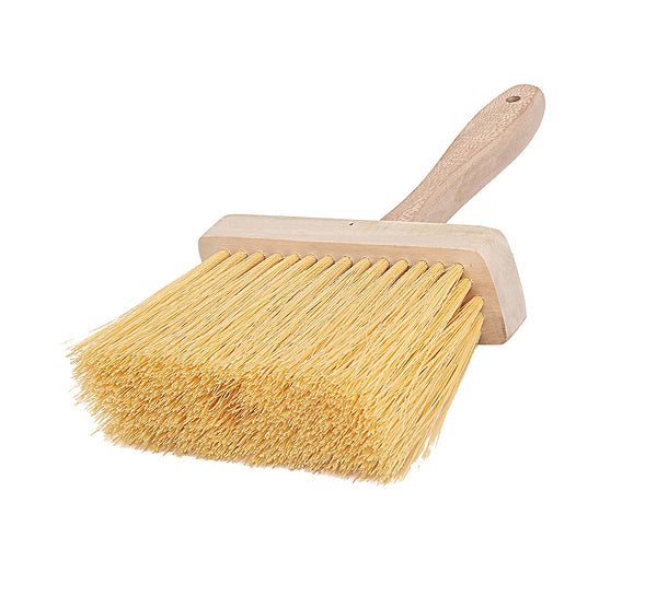 "Goldblatt G06989 Masonry Brush with Hardwood Block & Handle, 6-1/2"" x 2"""