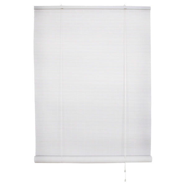 "Simple Spaces VRB-36X72W Vinyl Roll Up Blind, White, 60"" x 72"""