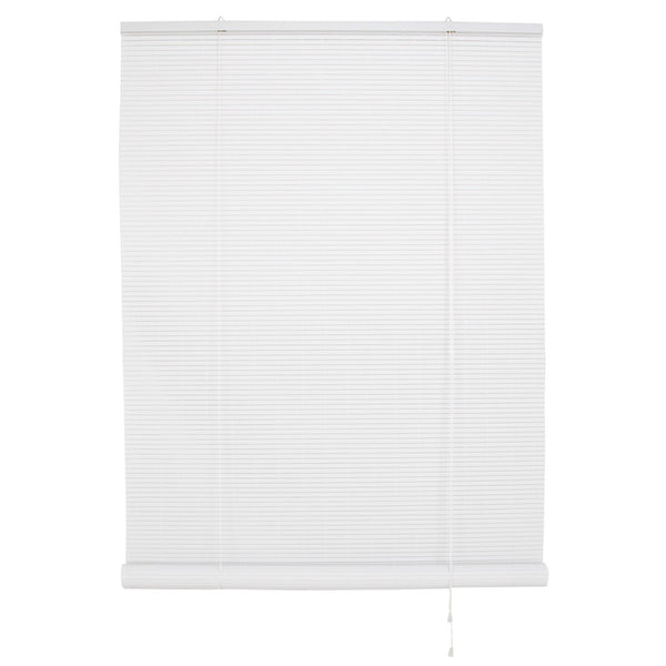 "Simple Spaces VRB-72X72W Vinyl Roll Up Blind, White, 72"" x 72"""