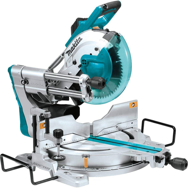 Makita LS1019L Dual‑Bevel Sliding Compound Miter Saw with Laser, 10""