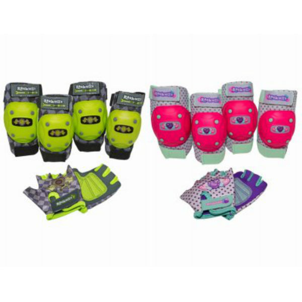 Bell 8051225 Riderz Street Shred Bell Elbow/Knee Pad Set, Assorted Colors