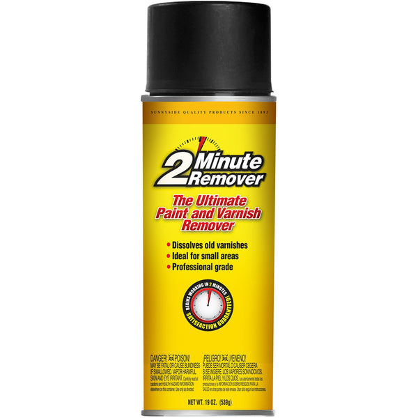 2-Minute Remover 63719 Paint & Varnish Remover Aerosol, 19 Oz